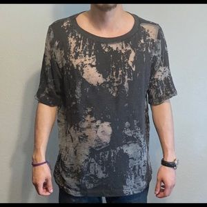 Distressed tee shirt